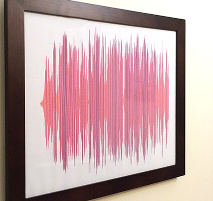 Laura's sound wave